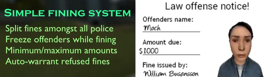 Fining System